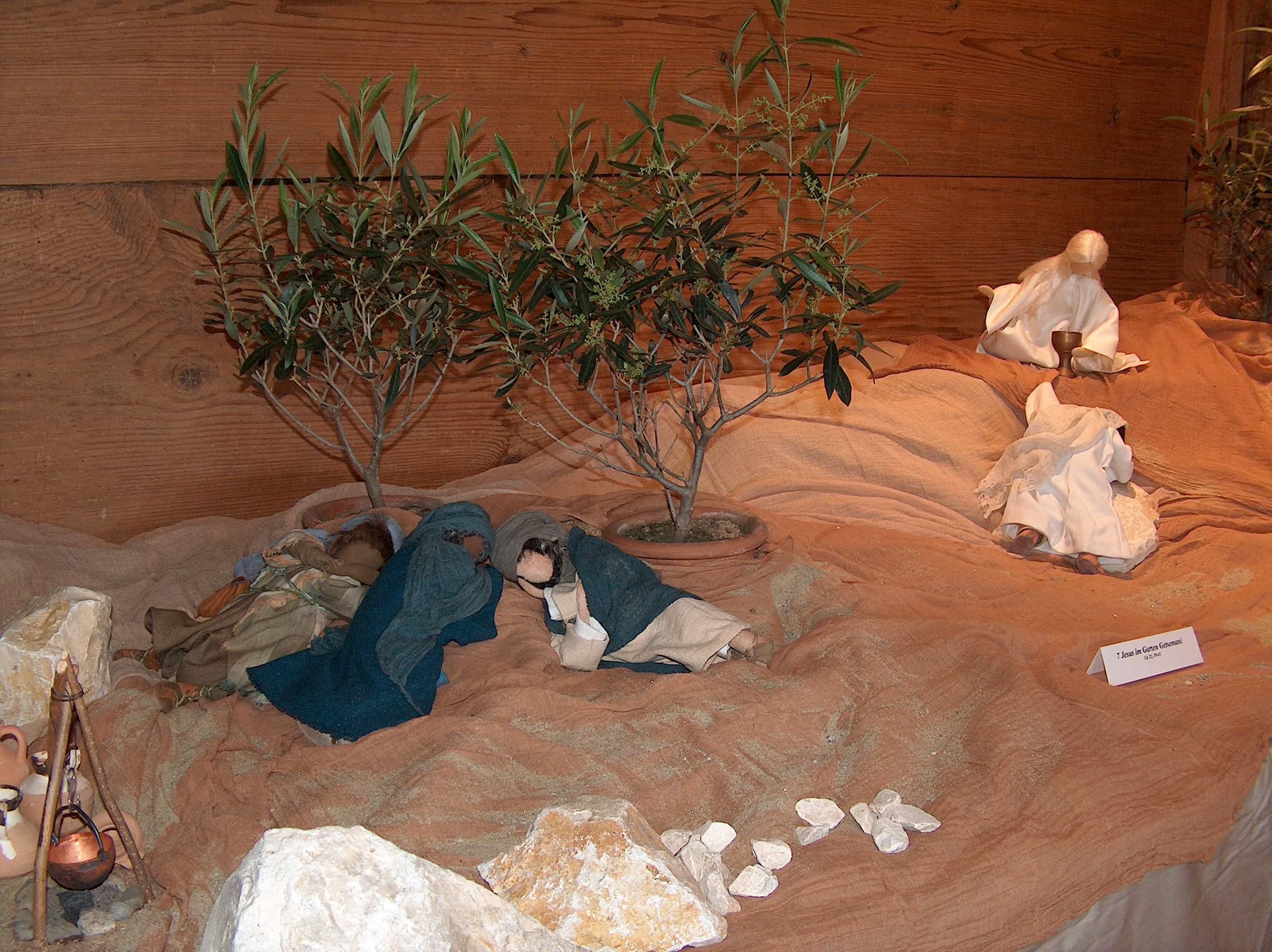 Jesus im Garten Gethsemane