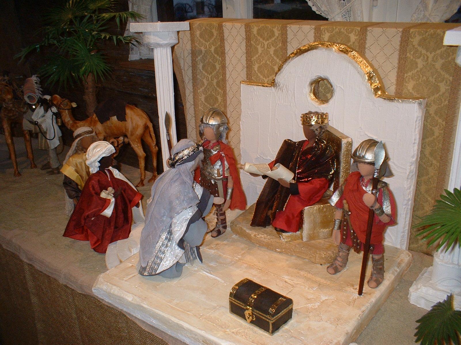 Drei Könige bei Herodes