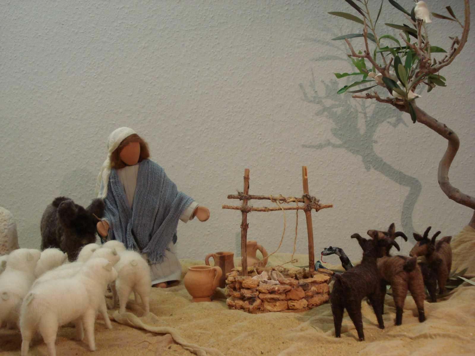 Schafe, Ziegen, Schlange